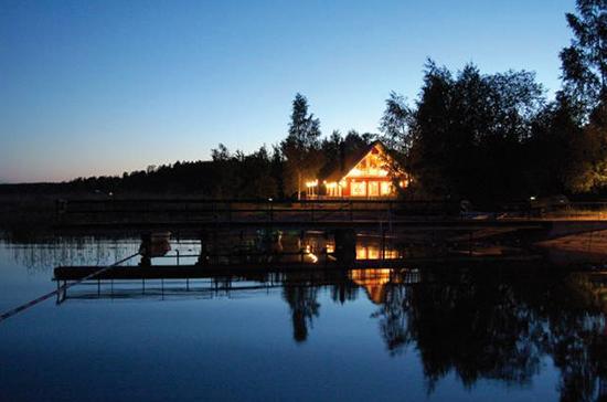 Bild på konferensanläggningen Almåsa